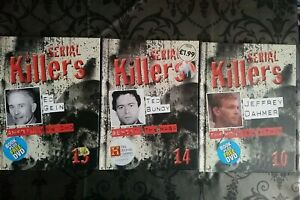 Issues 10,14 And 13 Of Serial Killers Book And DVD Sets