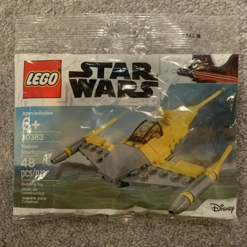 Lego Star Wars Naboo Starfighter Mini Polybag 30383 New Sealed