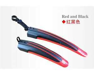 Bicycle-Cycling-Road-Front-Rear-Mud-Guard-Mudguard-Set-Mountain-Bike-Tire-Fender