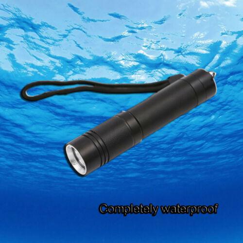 Aluminum Alloy T6 Glare Diving Flashlight Portable Charging LED Diving Light