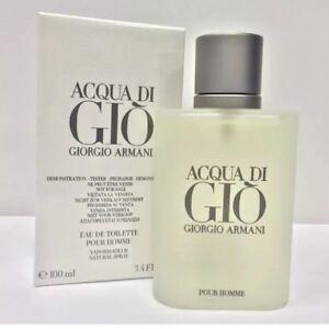Acqua-Di-Gio-By-Giorgio-Armani-3-4-oz-100ml-EDT-Men-Cologne-Spray-Tes