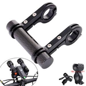 MTB Bicycle Accessories Bike Flashlight Holder Handle Bar Extender Mount US