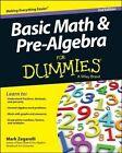 Basic Math & Pre-algebra For Dummies(R) by Mark Zegarelli (Paperback, 2014)