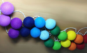 Image Is Loading Rainbow Color Set 20 Mixed Colors Cotton
