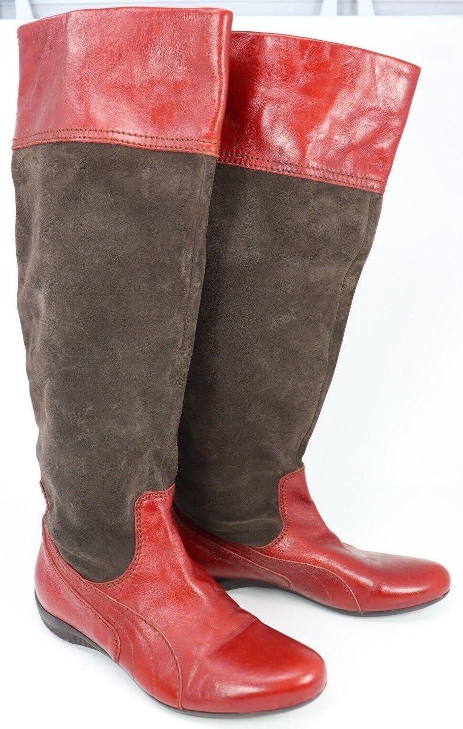 Puma Womens Boots Knee Hi 96 Hours Speedcat ReLuxe Size 9.5