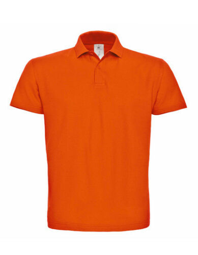 Unisex Piqué Poloshirt klassisch 2 Knöpfe Gr.XS-XXL in 19 Farben Baumwolle BC10