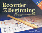 Recorder from the Beginning: The Famous Recorder Course for 7-11 Year Olds: Bks. 1 & 2 by John Pitt (Paperback, 1999)
