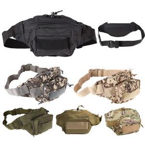 Tactical Military Belt Bag Rucksack Outdoor Camping Bumbag Waist Fanny Pack