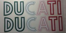 Ducati Sport Classic, Sport 1000 Tank Decal / Green, White & Red