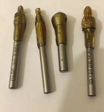 Set Of 4 Sizes 1/8x1/4x100deg, 2.5x100, 1/8x5/16x100deg And 10-90 Countersink.