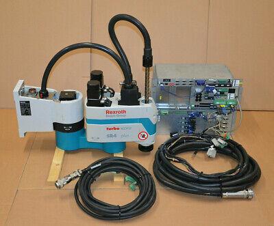 Bosch Rexroth Schwenkarmroboter Turbo Scara Sr4 Plus + Steuereinheit + Kabel(ii)