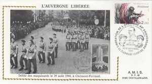 FRANCE-1984-40th-ANNIVERSARY-OF-LIBERATION-CLERMONT-FERRAND-special-cancel