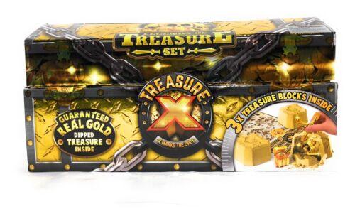 3X Treasure Blocks Inside Sealed NEW Treasure X Legends of Treasure Set