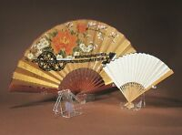Fan Display Stand Holder Easel For Collector Antique Folding Hand Fans, Clear (l on sale