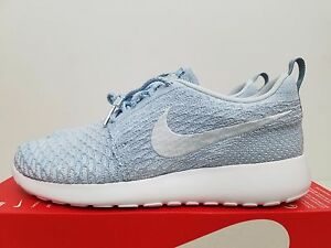 cc632d8d5aff0 Nike Womens Roshe One Flyknit LT Armory Blue 704927-401 Size 10