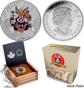 Canada-2015-20-Fine-Silver-Coin-Looney-Tunes-Merrie-Melodies-BUGS-BUNNY
