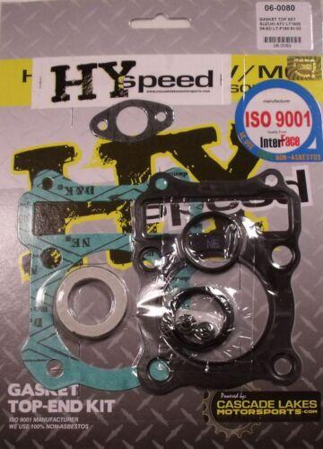 HYspeed Top End Head Gasket Kit Set Suzuki LT160 1989-2003