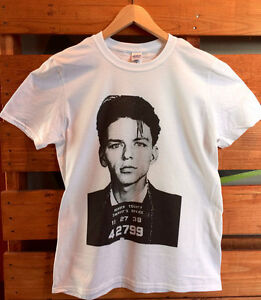 Prince Mugshot T-Shirt 100/% Cotton Short Sleeve Small to Extra-Large.