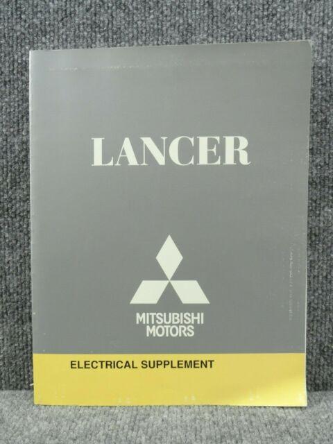 Oem 2009 Mitsubishi Lancer Electrical Wiring Diagrams