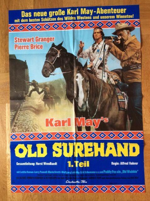 Old Surehand - 1. Teil (Plakat '69) - Pierre Brice / Stewart Granger / Karl May