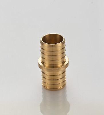 """100 Pcs 1/2"""" Pex Coupling - Brass Crimp Fitting (lead Free) Gediversifieerd In Verpakkingen"""