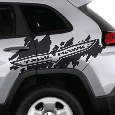 Jeep Renegade Trail Hawk Trailhawk Windshield Logo Graphic Vinyl Decal Sticker