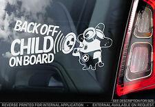 Child On Board - Car Window Sticker - Despicable Me Minion - PERSONALISE TEXT!