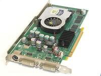 Lot of 2 Dell CN-0N4077 N4077 Nvidia Quadro FX 1300 Dual DVI Video Card