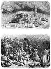 Gustave Dore gigantón Pantagruel 094 A4 Foto impresión