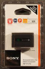 Original Sony NP-FV70 Li-Ion Batería Original FV100 FV70 FV50 FV30 SR21 SR68 SX45