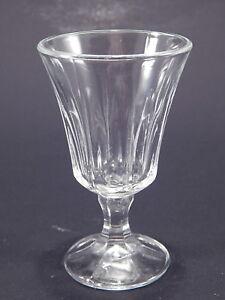 ANTICO BICCHIERE ITALIANO VETRO SOFFIATO ART DECO ART CRYSTAL GLASS COLLEZIONE