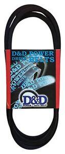 D&D PowerDrive 3L660 V Belt  3/8 x 66in  Vbelt