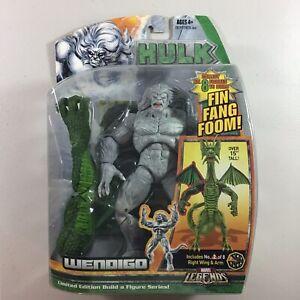 Marvel-Legends-Hulk-Wendigo-Fin-Fang-Foom-BAF-Series-2008-Hasbro-New