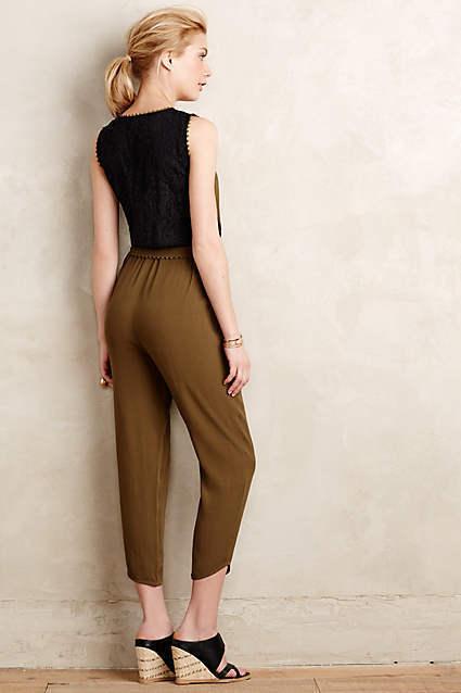 NWT Anthropologie Sani Lace Jumpsuit Pants Size 10