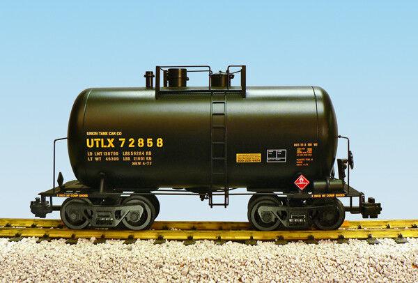 USA Trains G Escala Lata De Cerveza Tanque Coche R15202 utlx Negro, Amarillo de impresión