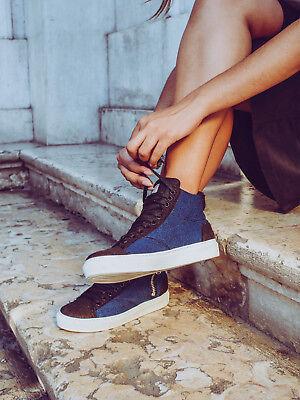 Buono Sneaker Vegan Unisex Pet Riciclato Di Bottiglie Lacci Stringata Traspirante Eco Garantire Un Aspetto Simile Al Nuovo In Modo Indefinibile
