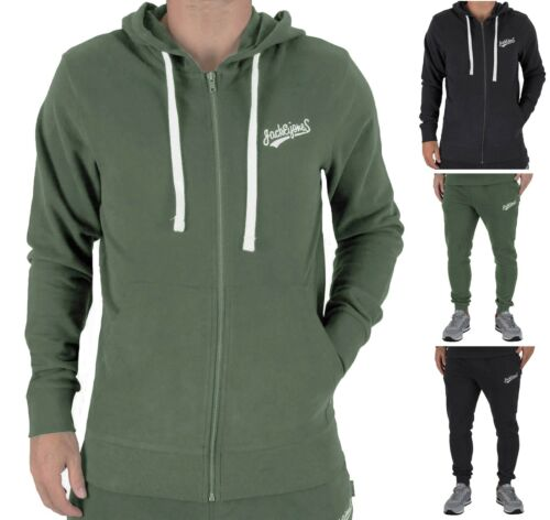 pantaloni zip uomo con Felpa sportivi e cappuccio jones Jack o Rf48qw