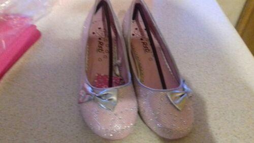 Filles //// Infant Reflets Rose Fête Mariage Chaussures Tailles 10,11,12-13,1,2,3,4
