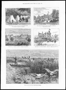1885-ROYALTY-Prince-of-Wales-in-SWEDEN-EKOLSUND-Swan-Shooting-160
