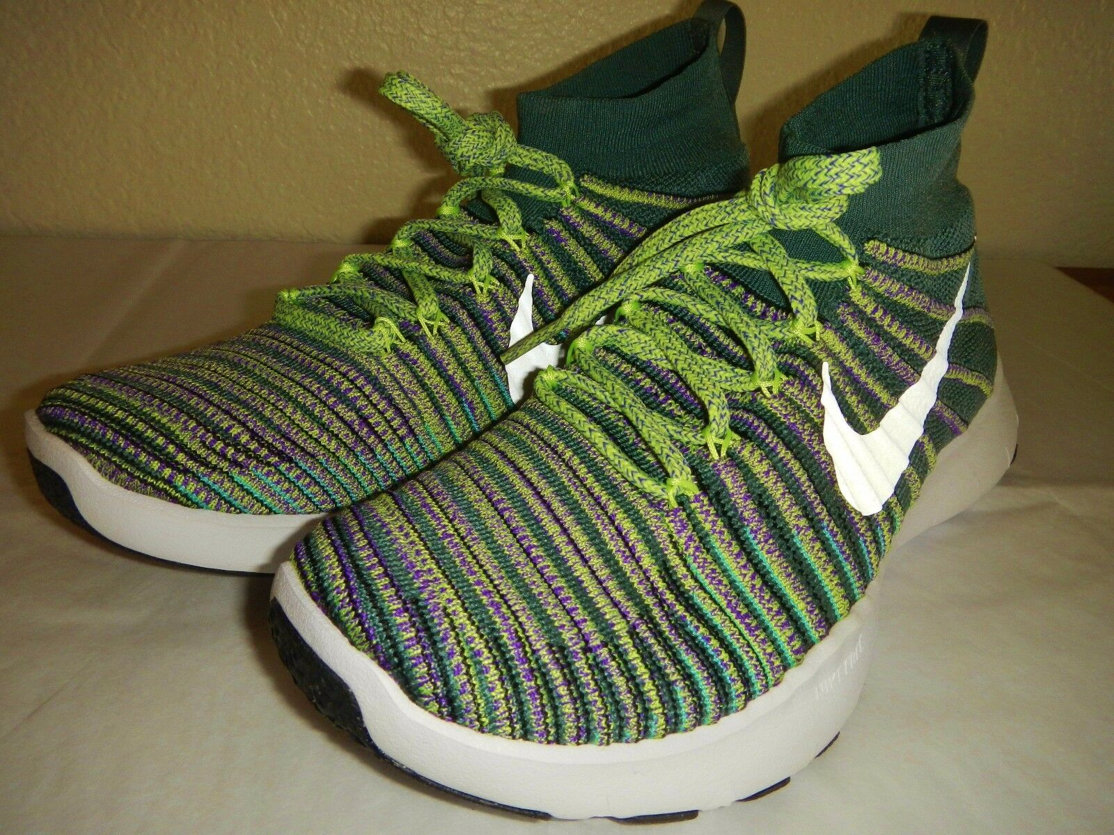 NIKE FREE TRAIN FORCE FLYKNIT SHOES, STYLE 833275 300 , SIZE 7, NWB