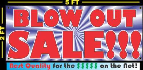 BLOW OUT SALE Banner Sign NEW Larger Size Super Huge XXXL