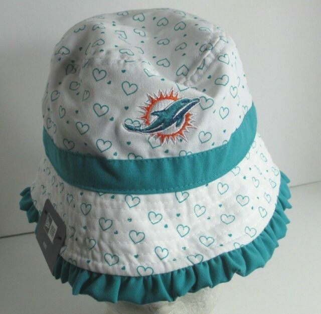 best cheap 3f416 740ca ... discount code for dolphins miami bucket hat cap infant 13 aprox kids  nfl unisex new era