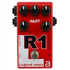 AMT-Electronics-R1-Mesa-guitar-preamp-distortion-overdrive-effect-pedal