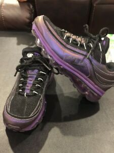 the best attitude 9f2b1 264a3 Image is loading NIKE-AIR-MAX-24-7-CLUB-PURPLE-BLACK-