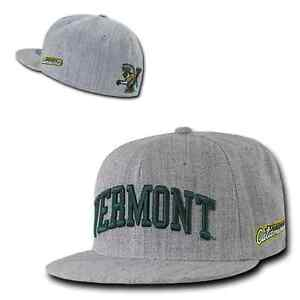 e8025d77c02 University of Vermont UVM Catamounts NCAA Fitted Flat Bill Baseball ...