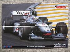 Centerfold Poster West McLaren Mercedes MP4/13 1998 #8 Mika Hakkinen (FIN) WC