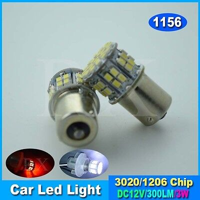 1 x White Car 1156 382 Tail Turn Signal 50 SMD LED Bulb Lamp Light BA15S P21W