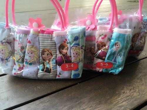6PC Kids Girls Frozen Cotton Underwear Pants Undies Briefs Panties Bottoms 3-9yr