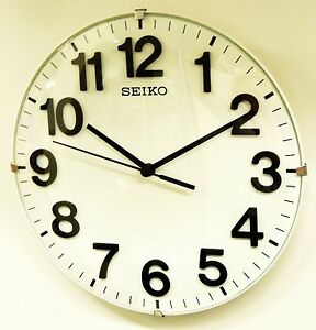 seiko wall clock quiet sweep qxa656wlh