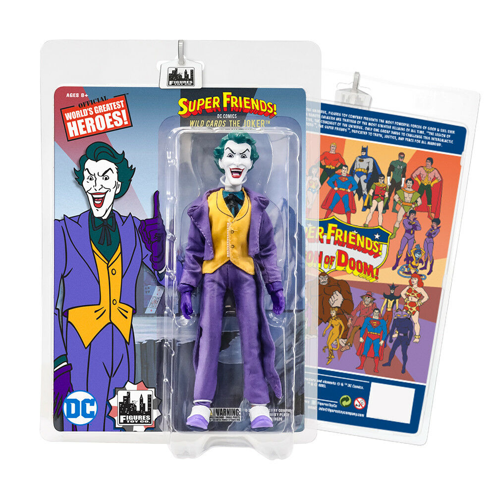 Super Friends Retro Action Figures Series  The Joker